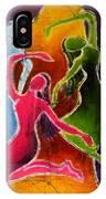 3 Dancers IPhone Case