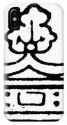 English Crown IPhone Case