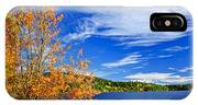 Fall Forest And Lake IPhone Case