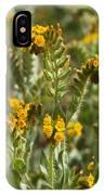 Fiddleneck Flowers IPhone Case