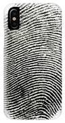 Fingerprint IPhone Case