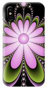 Fractal Floral Decorations IPhone Case