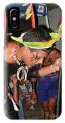 Fulnio Indians Of Brazil  IPhone Case