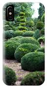 Garden Landscape - Topiary IPhone Case