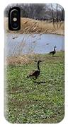 3 Geese IPhone Case