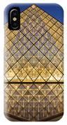 Glass Pyramid IPhone Case