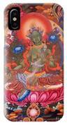 Green Tara 10 IPhone Case