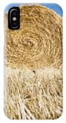 Hay Bales IPhone Case