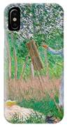 In The Woods At Giverny IPhone Case