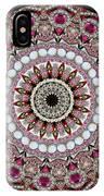 Kaleidoscope Colorful Jeweled Rhinestones IPhone Case