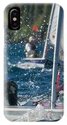 Laser Sailor IPhone Case