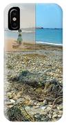 Lloyd's Bathing Beach At Sakonnet Point In Little Compton Ri IPhone Case