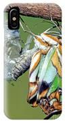 Malachite Butterfly Metamorphosis IPhone Case
