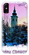 Christmas Card 22 IPhone Case