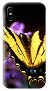 Monarch On Mountain Laurel IPhone Case