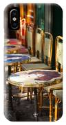 Montmartre Cafe IPhone Case