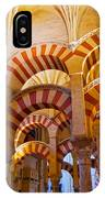 Mosque-cathedral In Cordoba IPhone Case