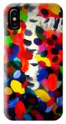 New England Abstract Painting Original By Zee Clark  IPhone Case