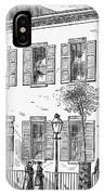 New York: Dispensary, 1868 IPhone Case