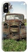 Old Junker Car IPhone X Case