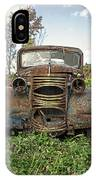 Old Junker Car IPhone Case