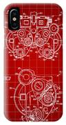 Optical Refractor Patent 1985 - Red IPhone Case