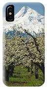 Orchard And Mount Hood, Oregon IPhone Case