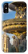 Paris Fountain IPhone Case