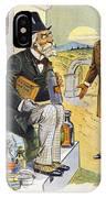 Patent Medicine Cartoon IPhone Case