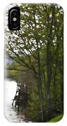 Path On Shore Of River Ness In Inverness IPhone Case