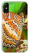 Plain Tiger Butterfly IPhone Case