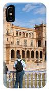 Plaza De Espana Pavilion In Seville IPhone Case