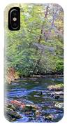 Pocono Mountain Stream Pennsylvania IPhone Case
