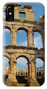 Pula, Istria County, Croatia. The Roman IPhone Case