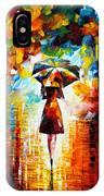 Rain Princess IPhone Case