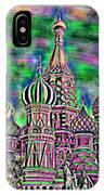 Rainbow Temple IPhone Case