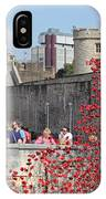 Remembrance Poppies At Tower Of London IPhone Case