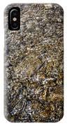 Rocks In Water IPhone Case