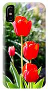 3 Roses IPhone Case