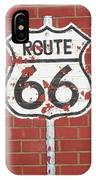 Route 66 Shield IPhone Case