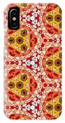 Seamlessly Tiled Kaleidoscopic Mosaic Pattern IPhone Case