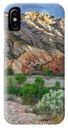 Spring Storm Over Split Mountain Dinosaur National Monument IPhone Case