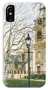 St Johns Church Wapping London IPhone Case