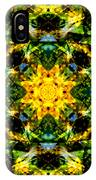 Stained Glass Sun Mandala IPhone Case