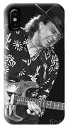 Guitarist Stevie Ray Vaughan IPhone Case