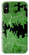 Sydney Street Map - Sydney Australia Road Map Art On Color IPhone Case