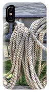 Tall Ship Line Holder IPhone Case