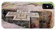 The Rock-hewn Churches Of Lalibela IPhone Case
