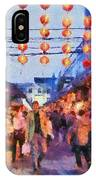 Traditional Shopping Area IPhone Case