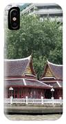 View From Chao Phraya River In Bangkok IPhone Case